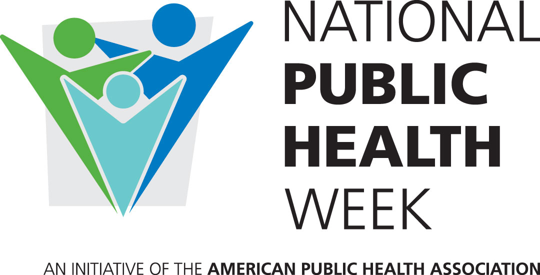national public health week logo with lower text an initiative of the american public health association